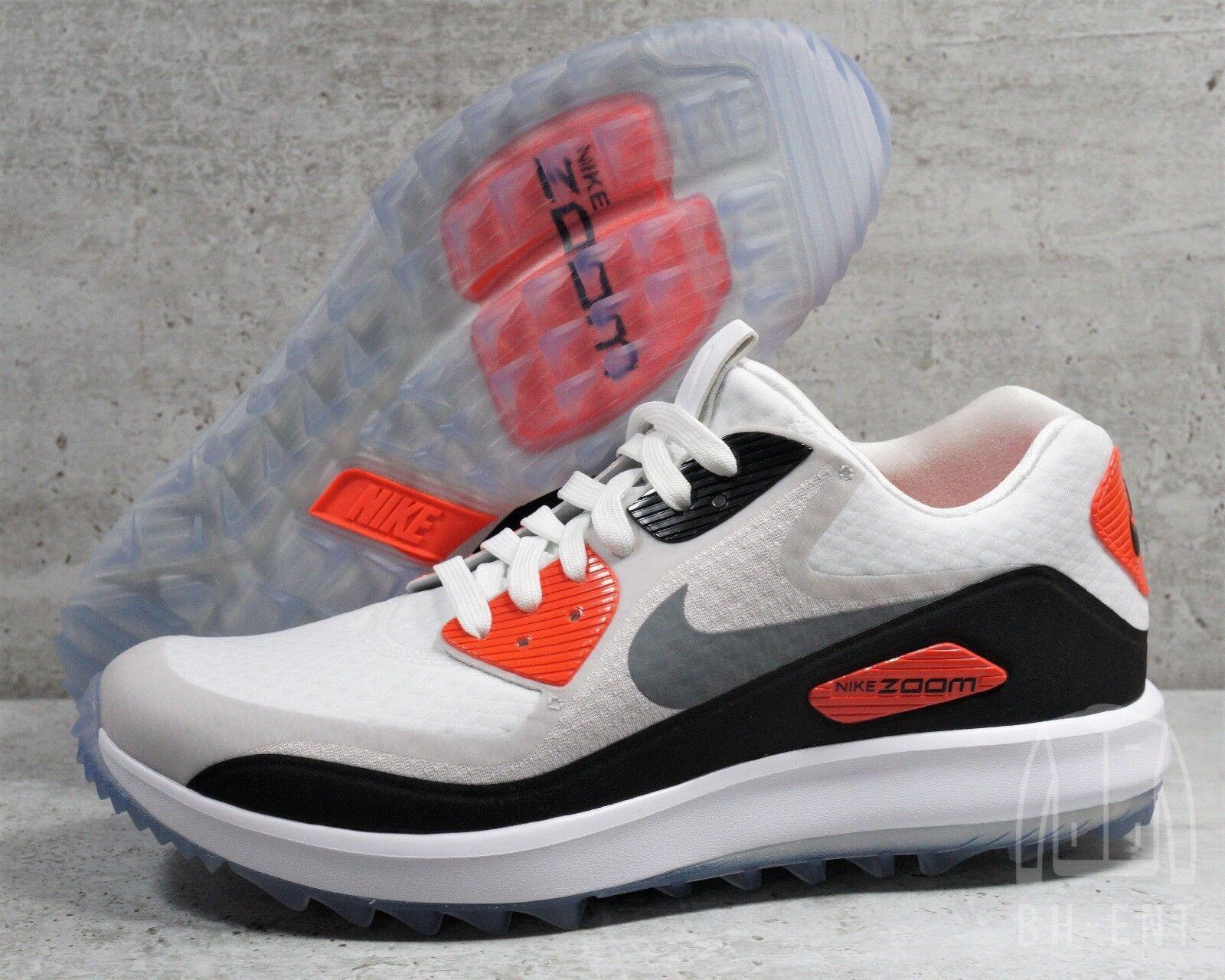 Nike Air Max Zoom 90 IT golf cipők Fehér infravörös RORY MCILROY SZ 8.5