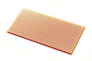 RM 2,54mm 2 x Hole Grid Board 50 x 100mm Stripe Grid//lötstreifen