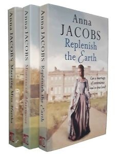 Anna-Jacobs-3-Books-Historical-Romance-Family-Saga-Marrying-Miss-Martha-New