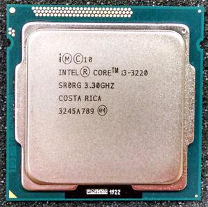 INTEL CORE i3-3220 SR0RG 3.3GHZ 3MB 5GT//s LGA1155 CPU PROCESSOR TESTED WARRANTY