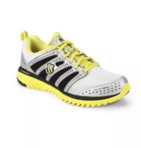 ShoesSize About 9Whiteyellowblacksilver K Blade Running Swiss Light Men's Race Details gf6y7b