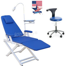 Usa Dental Portable Unit Simple Portable Folding Chair Doctor Assistant Stool