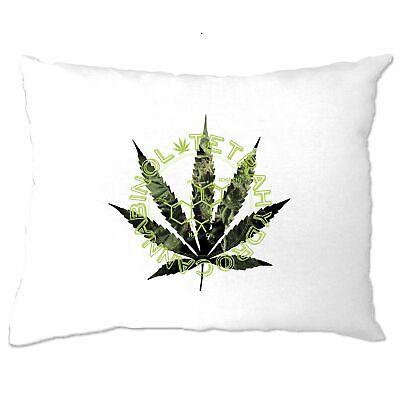 Nerdy Cushion Cover Chemical Make Up Of Cannabis Marijuana Molecule Weed Dope