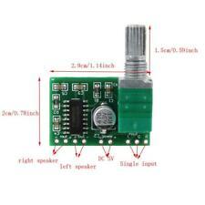 5Pcs PAM8403 5V Dc Audio Amplifier Board 2 Channel 2X3W Volume Control Usb Po oh