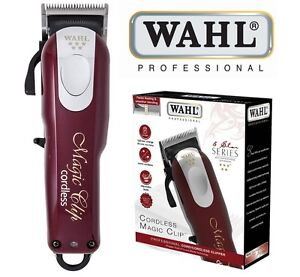 maquina wahl magic clip 5 star cordless clipper maquinilla recortadora rapar ebay. Black Bedroom Furniture Sets. Home Design Ideas