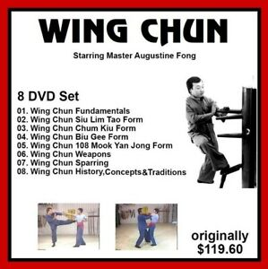 WING-CHUN-KUNG-FU-training-8-DVD-set-Augustine-Fong-panther-productions-jkd-fist
