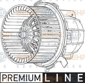 BEHR HELLA SERVICE 8EW 351 040-251 *** PREMIUM LINE *** Interior Blower