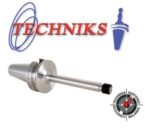Techniks BT30 ER16 Mini Nut  Collet Chuck 120mm Long  AT3 Ground 16312