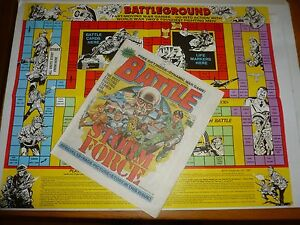 BATTLE-with-STORM-FORCE-Comic-Date-24-01-1987-UK-Paper-Comic-Inc-FREE-GAME