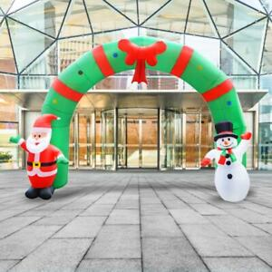 Christmas-Santa-Snowman-Inflatable-Archway-Home-Garden-Party-Arch-Decoration
