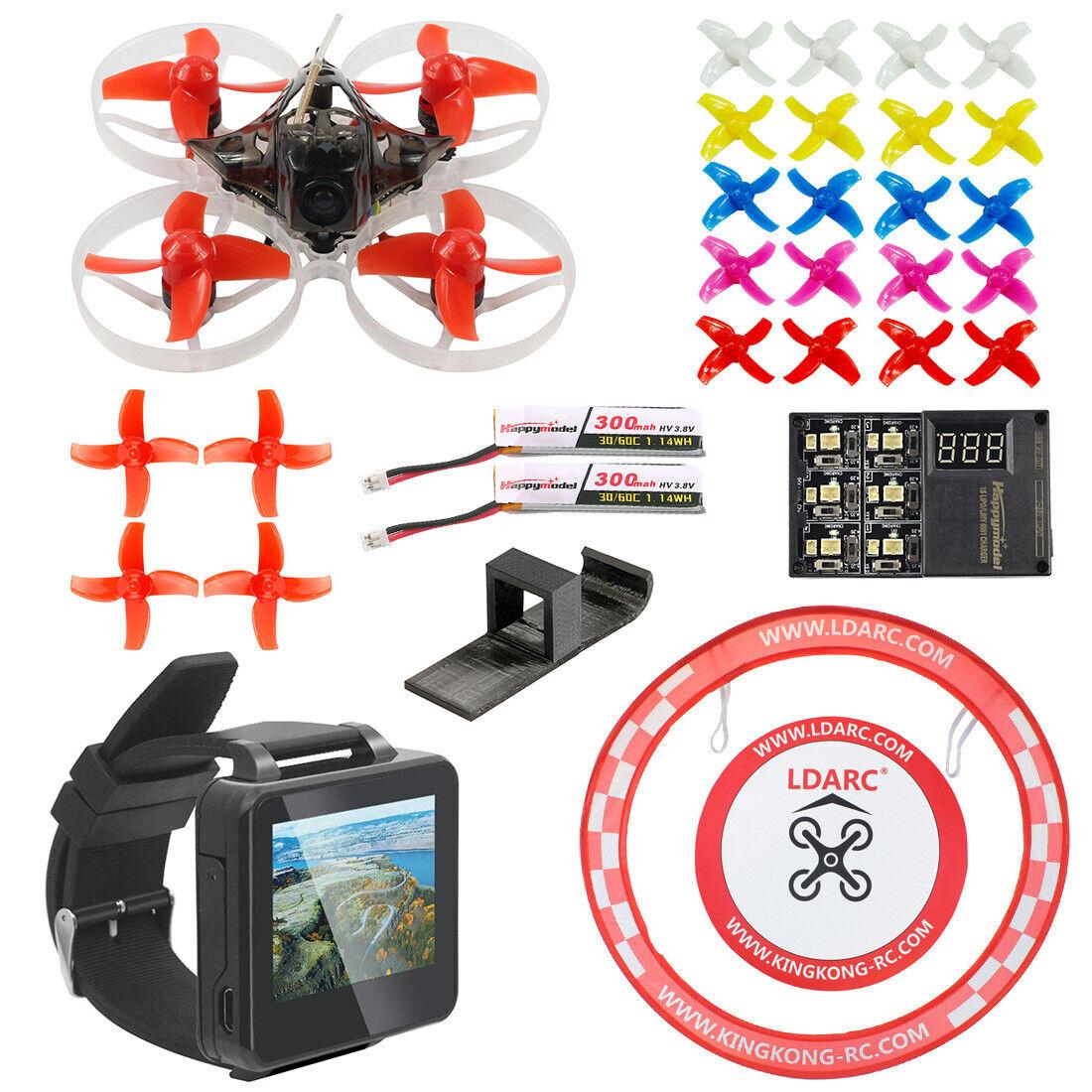 PRO 75mm V2 Crazybee F4 OSD 2S dan por reloj de vista en primera persona Gafas Radio Control De Carreras Drone