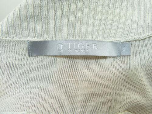 Gr With Silk N Tiger Grey Noble Of Sweden 9681 N Cardigan xs 80wt70q