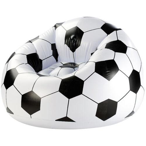 infactory Aufblasbarer Fußball-Clubsessel im coolen Lounge-Style