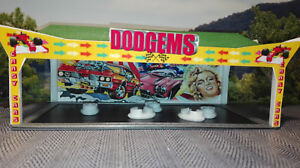 Autoscooter DODGEMS   Bausatz / Kit   N Scale   Kirmes  bumper car ride   1:160