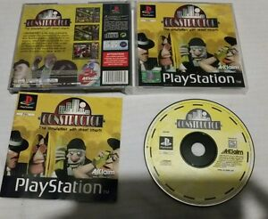 Ps1-Constructor-Playstation-1-Spiel-Sony-PAL-ps1-CIB