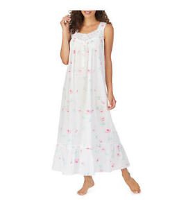 Eileen-West-Swiss-Dot-Rose-Woven-Nightgown-Women-039-s