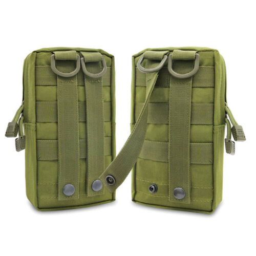 Outdoor Pouch Tactical Belt Bag Pouch Utility Pouch Hiking Camping New