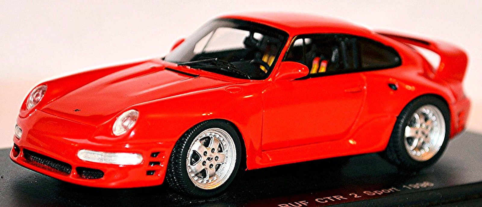 PORSCHE 911 RUF CTR 2 1997 Rouge rouge 1 43 Spark