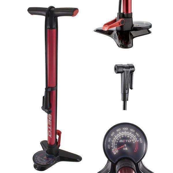 Pumpe Werkstatt für für für Schlauchlos 11bar   160psi rot 588080963 BETO Fahrrad fe9790