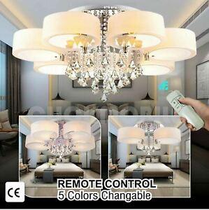 Modern-LED-Crystal-Ceiling-Lights-Chandelier-Lamp-Kitchen-Bed-Living-Room-Light