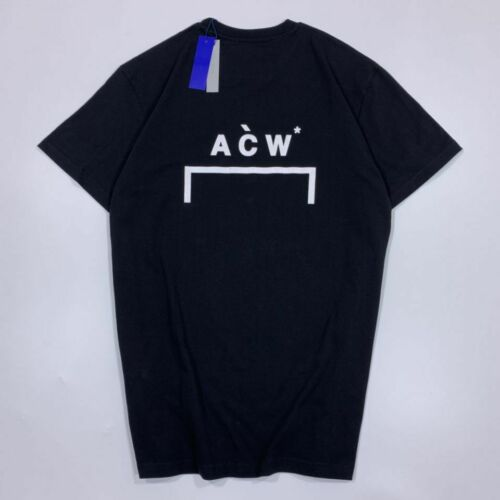 Men A COLD WALL ACW printed short-sleeved T-shirt 2color