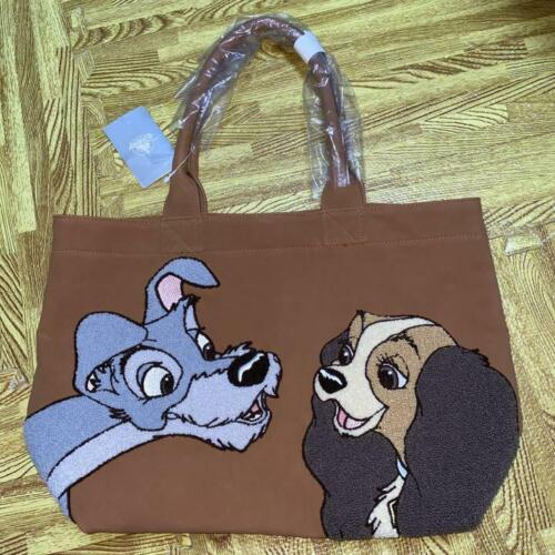 Disney Store Lady and the Tramp Embroidered Tote B