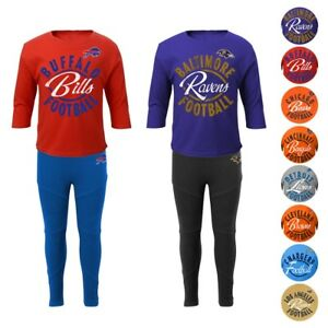NFL Long Sleeve T-Shirt   Pants Set Infant Toddler Little Girls (12 ... b8b558945