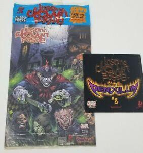Insane Clown Posse  - The Pendulum 8 Comic Book & CD set ICP Violent J twiztid