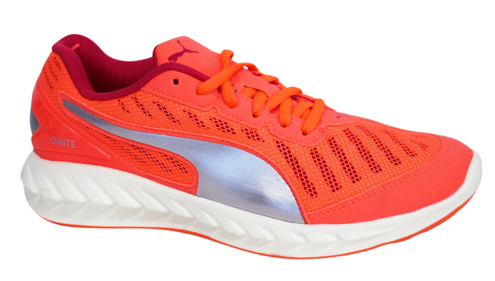 Puma Ignite Ultimate Womens Trainers Running Shoes Sports Peach 188606 01 M10