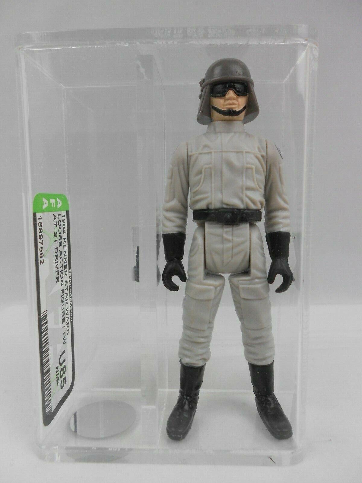 Vintage Star Wars ROTJ 1984 AT-ST Driver - AFA Grade U85 (NM+) - COO TW - Kenner