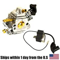 Ignition Coil & Carburetor For Stihl Br500 Br550 Br600 Backpack Leaf Blowers on sale