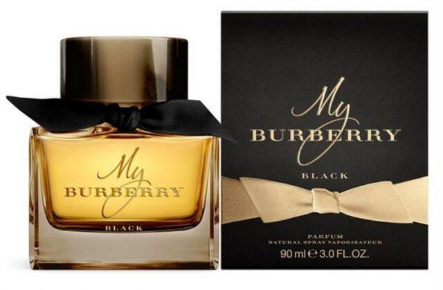 MY BURBERRY BLACK by BURBERRY 90ML EDP WOMEN NEW SEALED BOX.