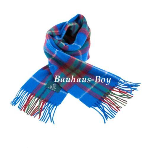 FOULARD TARTAN City of Edinburgh 100/% Pur Nouvelle Laine D/'agneau Écossais Clan écharpe