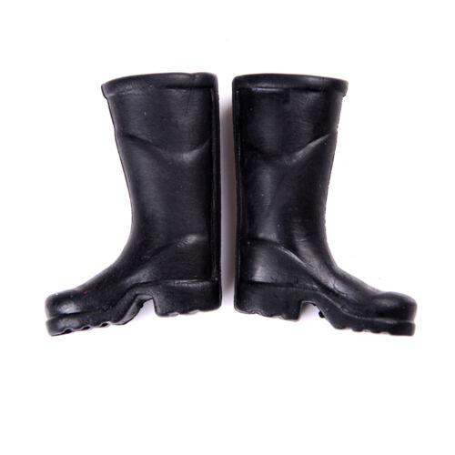 2X Mini Garden Yard Rubber Rain Boots For 1//12 Dollhouse Furniture Home  OD