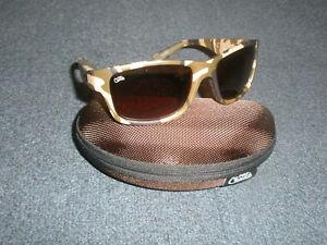 07f79f04ccfb Image is loading Fox-Chunk-Camo-Frame-Brown-Lens-Polaroid-Sunglasses