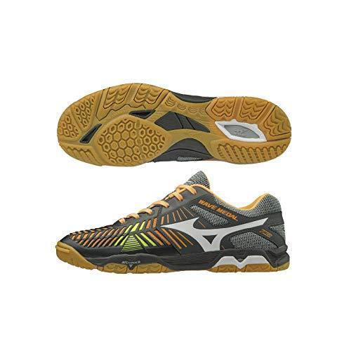 MIZUNO Table Tennis chaussures WAVE MEDAL Z2 81GA1910 gris blanc US7(25cm)