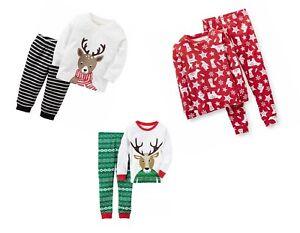 Carter's Baby Boy's 2-pièces De Noël Vacances Pyjama Set-nouveau/neuf Avec étiquettes-afficher Le Titre D'origine