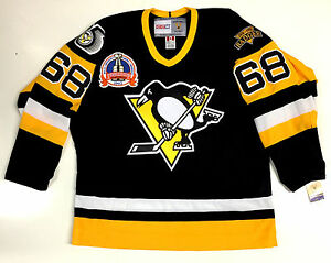 wholesale dealer 459d2 c7720 Details about JAROMIR JAGR PITTSBURGH PENGUINS CCM VINTAGE 1992 STANLEY CUP  BLACK JERSEY