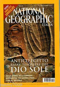 NATIONAL-GEOGRAPHIC-ITALIA-NOVEMBRE-2003-ANTICO-EGITTO-AFGHANISTAN-YELLOWSTONE