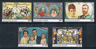 Hearty Ascension 2013 60th Anniversary Of Coronation 5v Set Sg 1162/6 Mnh Diversified In Packaging British Colonies & Territories