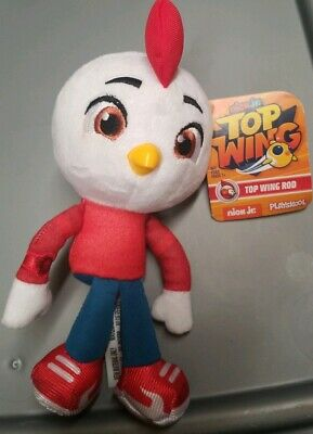 "Kids Playskool TOP WING ROD Soft Plush Toy Nickelodeon nouveau BNWT 8/"" Hasbro"