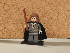 HERMIONE GRANGER HARRY POTTER MINIFIGURE W//CROOKSHANKS LEGO COMPATIBLE