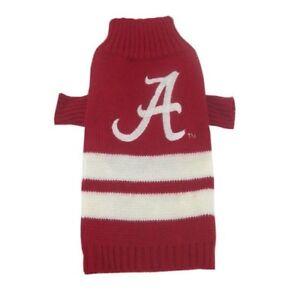 Alabama-Crimson-Tide-NCAA-Pets-First-Dog-Pet-Acrylic-Winter-Sweater-Sizes-XS-L