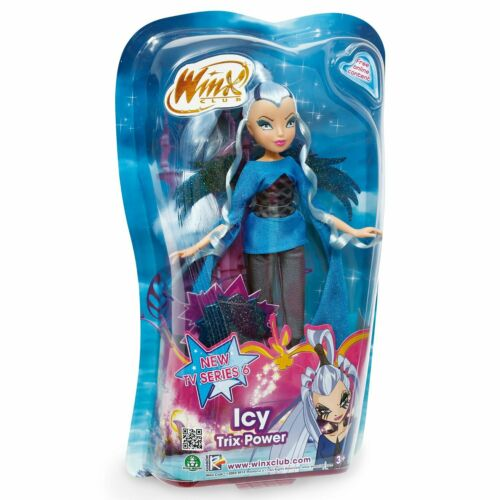 Winx Club 6th Series Trix Power Icy Doll Giochi Preziosi