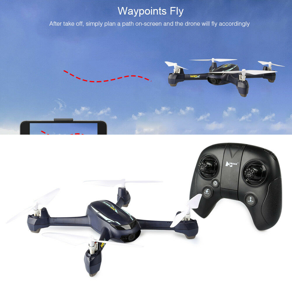 Hubsan H216A X4 DESIRE PRO RC Drone Altitude Hold   Waypoints   Headless Mode