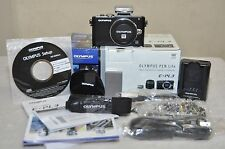 Olympus PEN E-PL3 12.3MP Digital Camera - Black (Body Only) w/ Box + Accessories