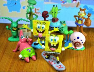 8-Pcs-Set-SpongeBob-Squarepants-Patrick-Star-Squidward-Tentacles-PVC-Figure-Toy