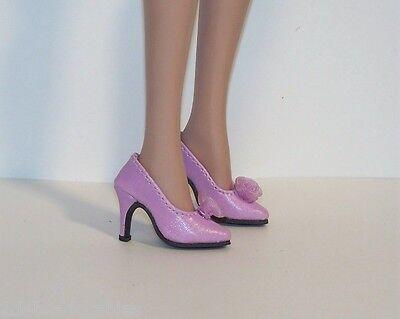 "YELLOW Organza Rose High Heel Hi-Heel Doll Shoes FOR 16/"" Tyler Wentworth Debs"