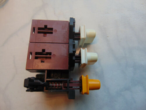 Schalter Tastatur 3870//6 ZYB//06 Miele Trockner TNr 2140831 Drucktastenschalter