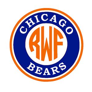 g Chicago Bears vinyl sticker for skateboard luggage laptop tumblers car